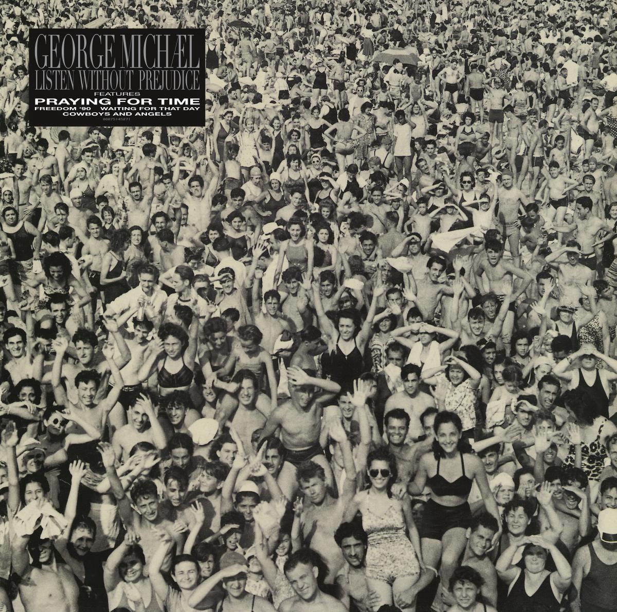 George Michael, Albumcover, Listen Withput Prejudice Vol.1