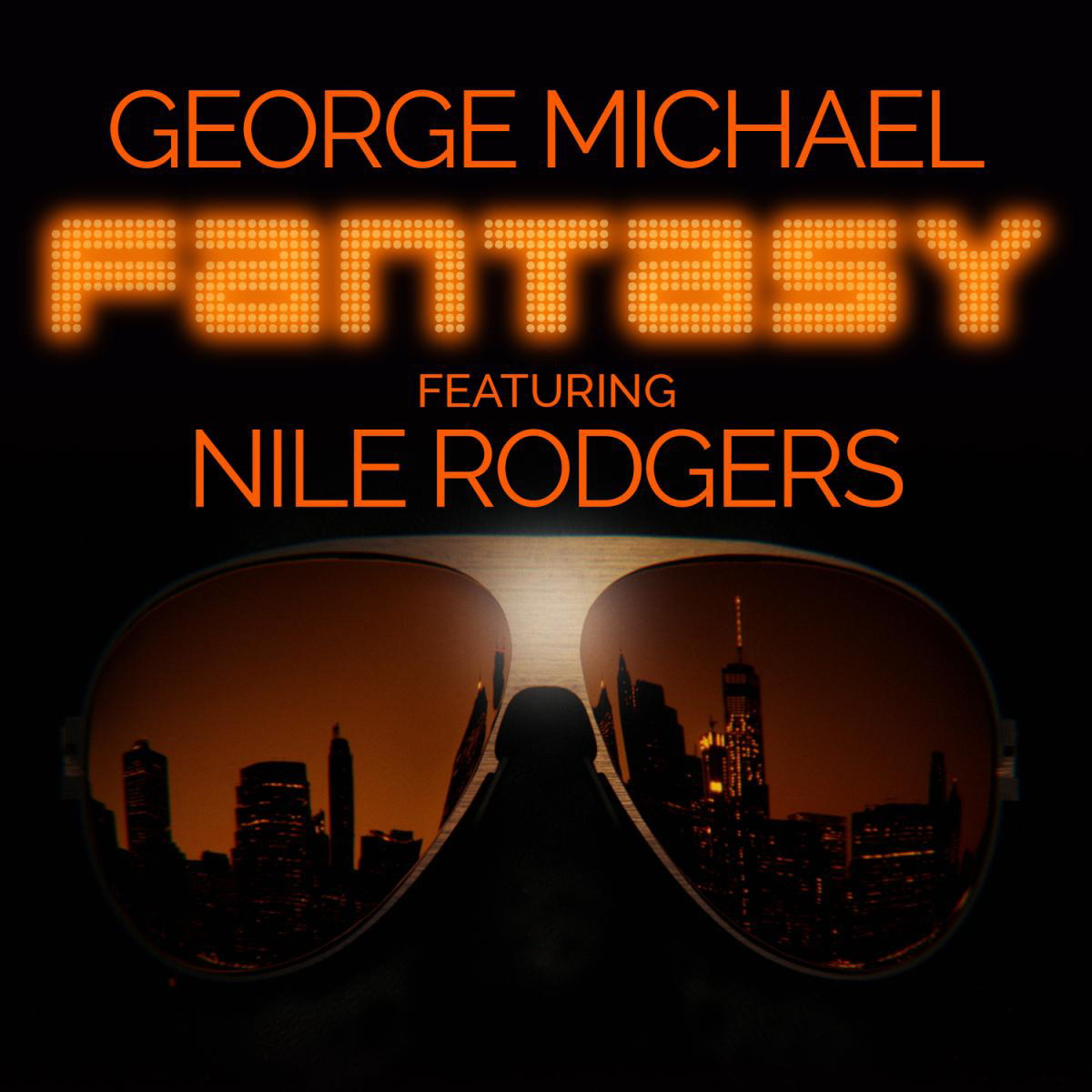 George Michael, Fantasy, singlecover