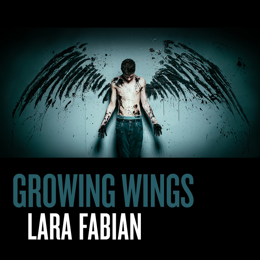 Lara Fabian, Growing-Wings-Single-Cover