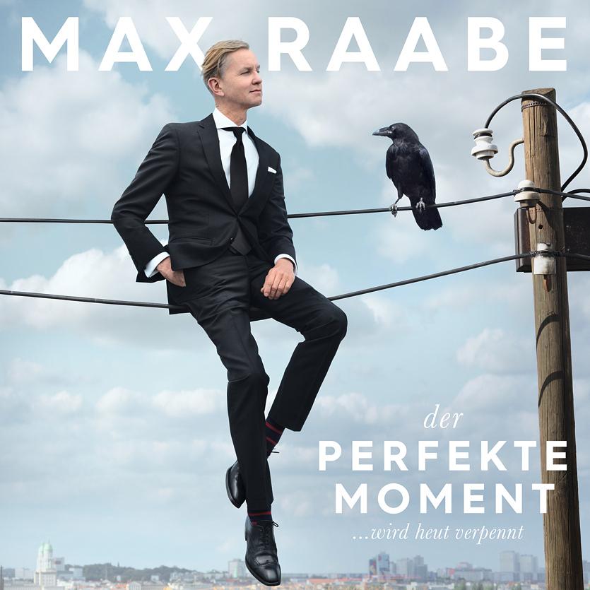 Max Raabe, Der perfekte Moment wird heut verpennt, Album-Cover
