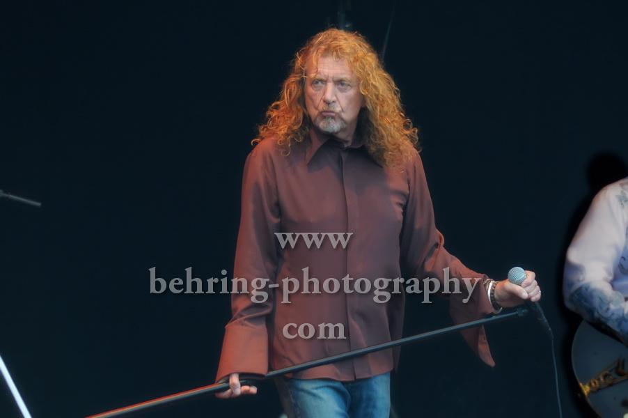 Robert Plant mit der Band of Joy, Konzert auf der Zitadelle, Berlin, 03.08.2011