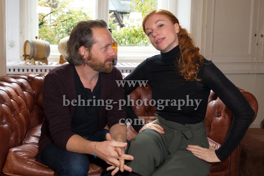 Marleen Lohse und Fabian Busch, SANFT SCHLAEFT DER TOD, Interview