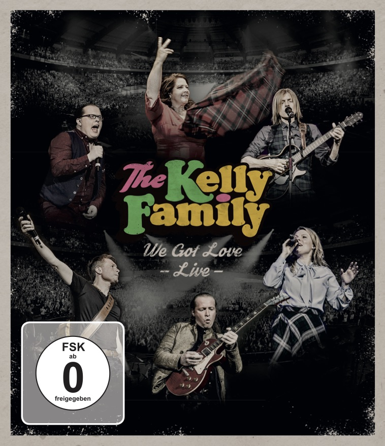 The Kelly Family, Live-BD-Cover