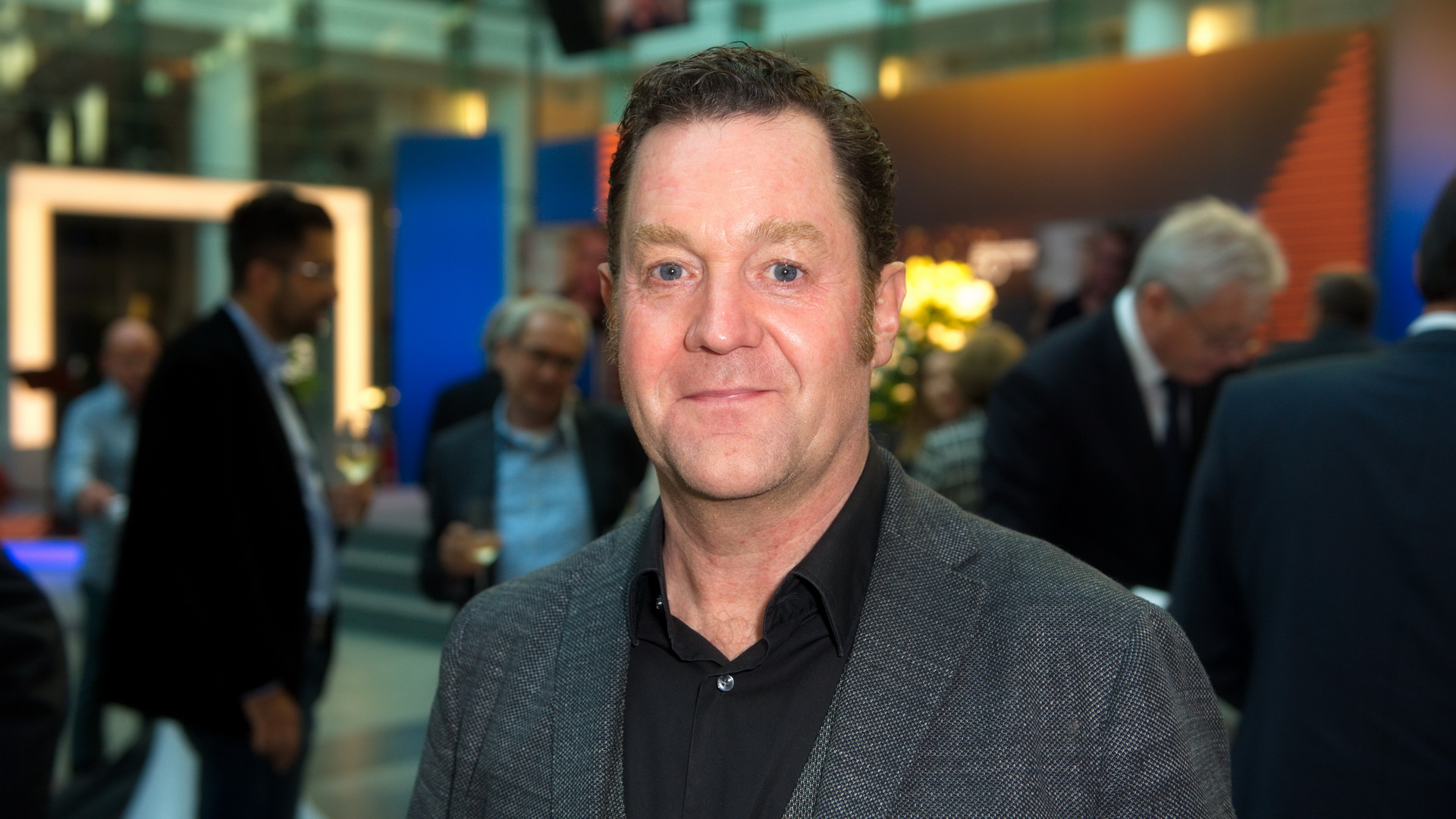 """Juergen Tonkel (""""Die Chefin""""), bei der 16. Verleihung vom XY-Preis """"Gemeinsam gegen das Verbrechen"""", ZDF-Hauptstadtstudio, Berlin, 17.10.2017"""