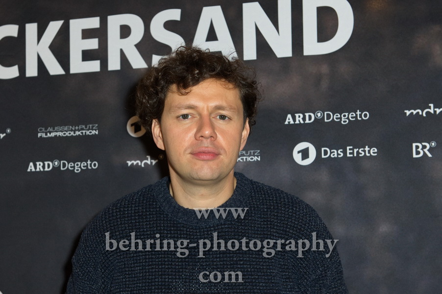 "Christian Friedel, ""ZUCKERSAND""-Premiere, Berlin, 25.09.2017"