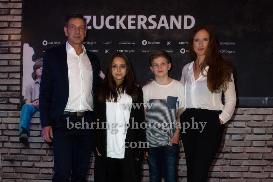 ZUCKERSAND, Interview und Photo Call, Berlin, 25.09.2017