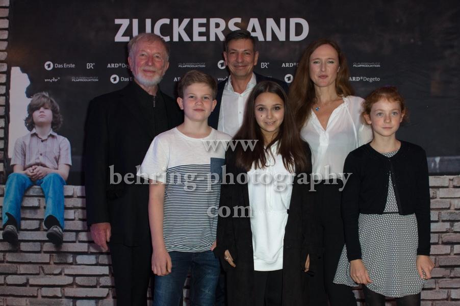 Deborah Kaufmann - ZUCKERSAND-Premiere, Berlin, 25.09.2017