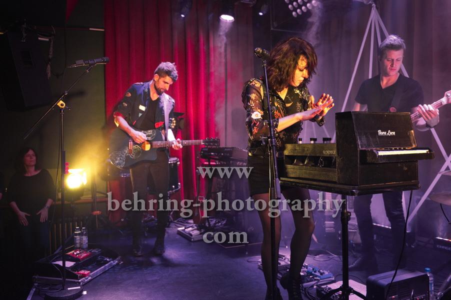 CARROUSEL, Sophie Burande und Leonard Gogniat, Konzert im Privatclub, Berlin, am 21.11.2017