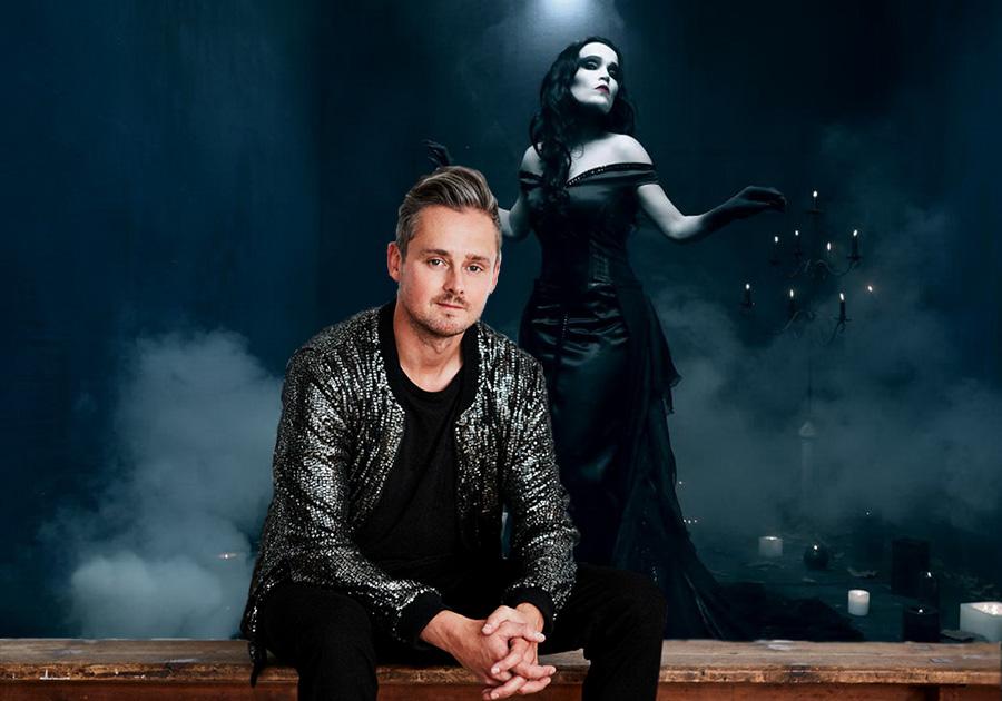 Tarja und Tom Chaplin, Titelbild, Collage, 2017