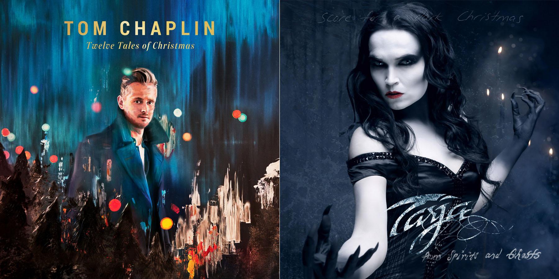 Tarja und Tom Chaplin, Weihnachtsalben-cover, 2017