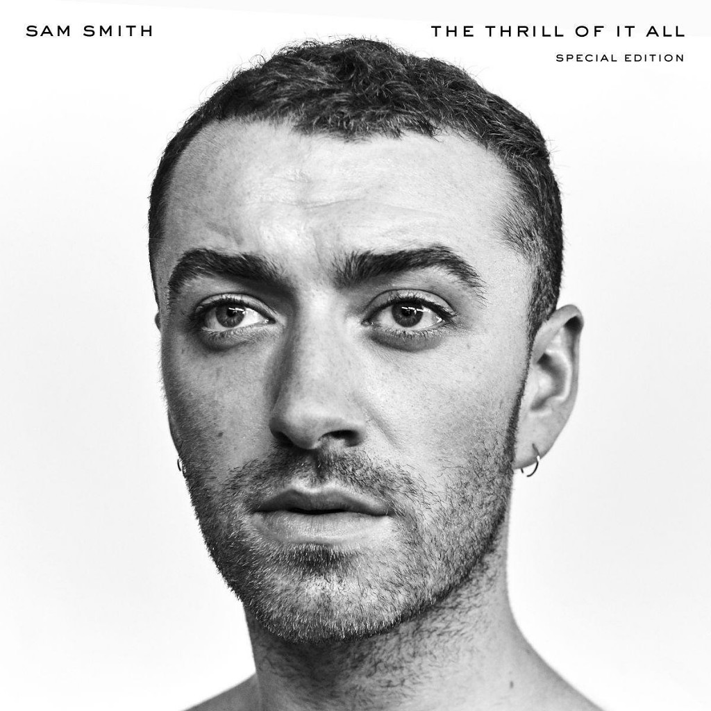 sam smith, the thrill of it all, cover