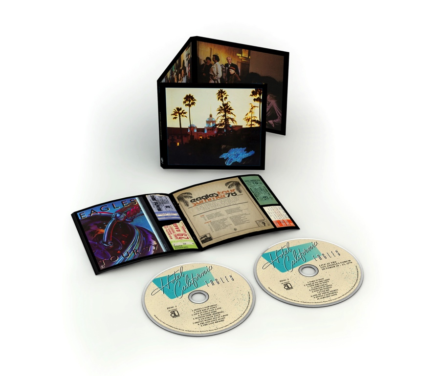Hotel California, Eagles, 40th Anniversary Expanded Edition 2 CD