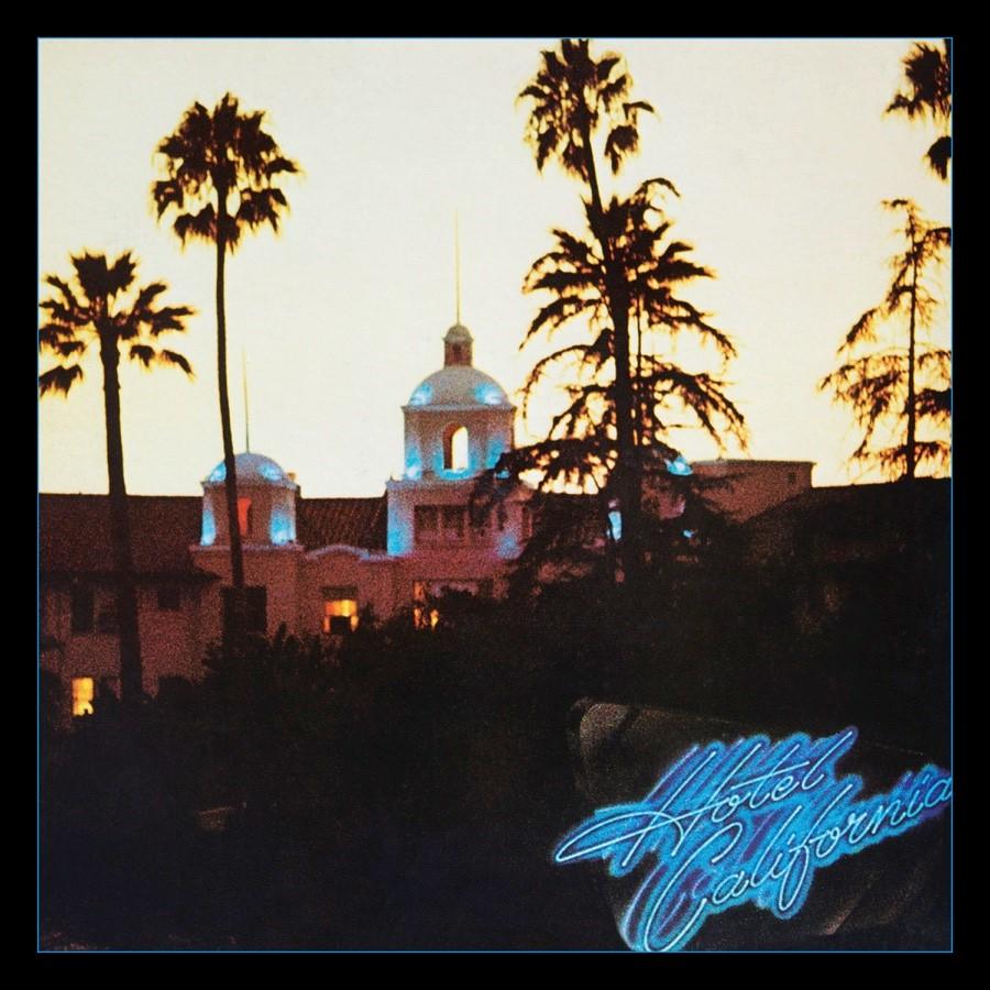 eagles,hotel california, cover