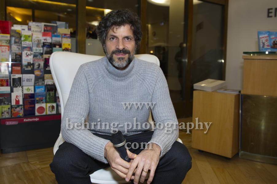 """Pasquale Aleardi , Photo Call und Interview (am 01.03.2018 in """"Kommissar Dupin - Bretonisches Leuchten"""" im Ersten), Institut Francais, Berlin, am 27.02.2018,"""