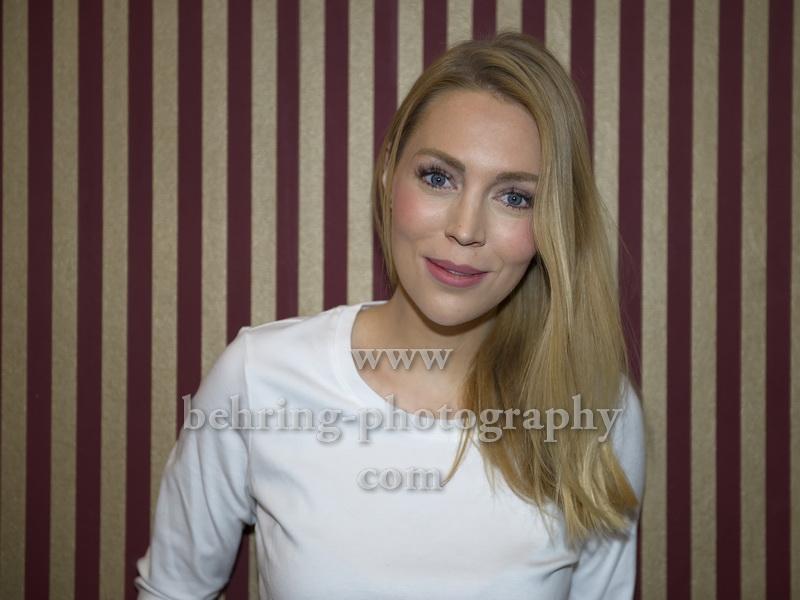 Alexa Feser, Photocall im Arema-Restaurant, Berlin-Moabit, 05.03.208