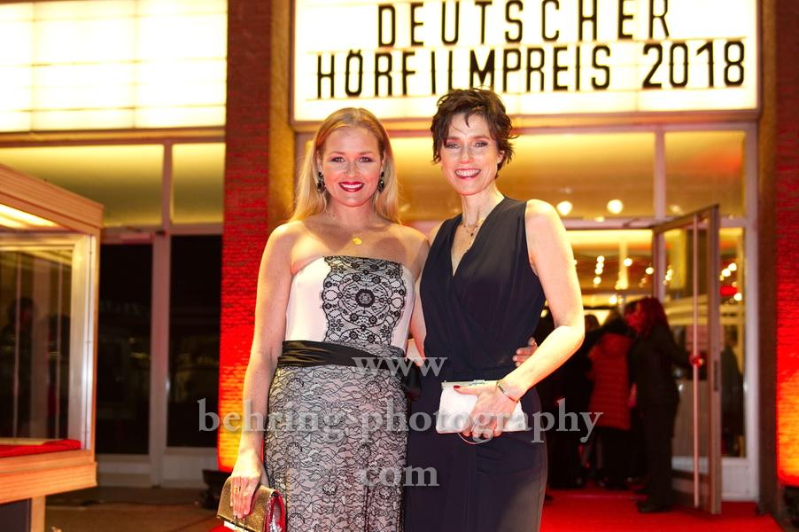 DEUTSCHER HOERFILMPREIS 2018, Roter Teppich zur Preisverleihung vor dem Kino International, Berlin, 20.03.2018