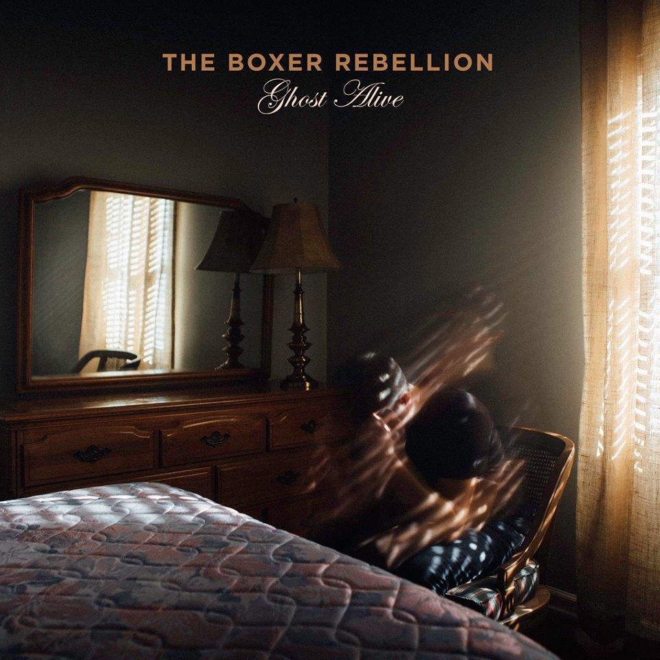 the boxer rebellion, ghost alive, Albumcover, 2018