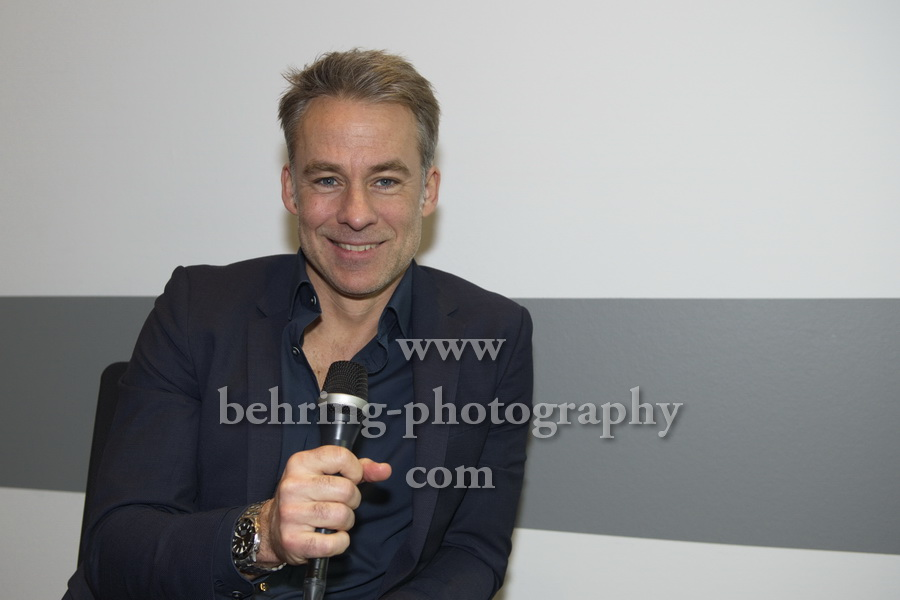 Marco GIRNTH, Photo Call und Interview im ZDF-Hauptstadtstudio, Berlin, am 27.02.2018,