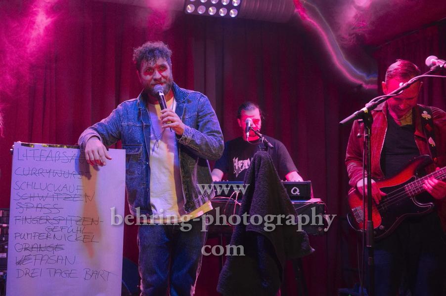 OTTO NORMAL, Konzert im Privatclub, Berlin, 05.05.2018