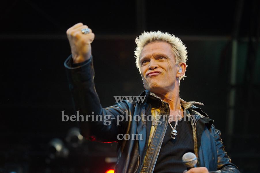 BILLY IDOL, Berlin, 11.07.2012, Konzert in der Zitadelle Spandau