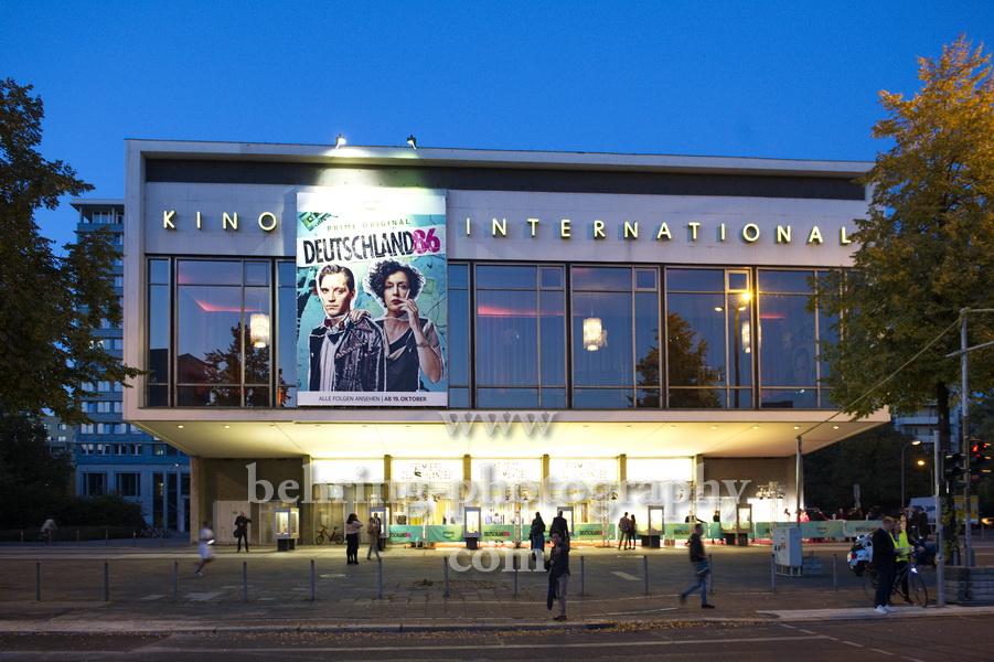 DEUTSCHLAND 86, Roter Teppich zur Premiere im Kino INTERNATIONAL, Berlin, 11.10.2018