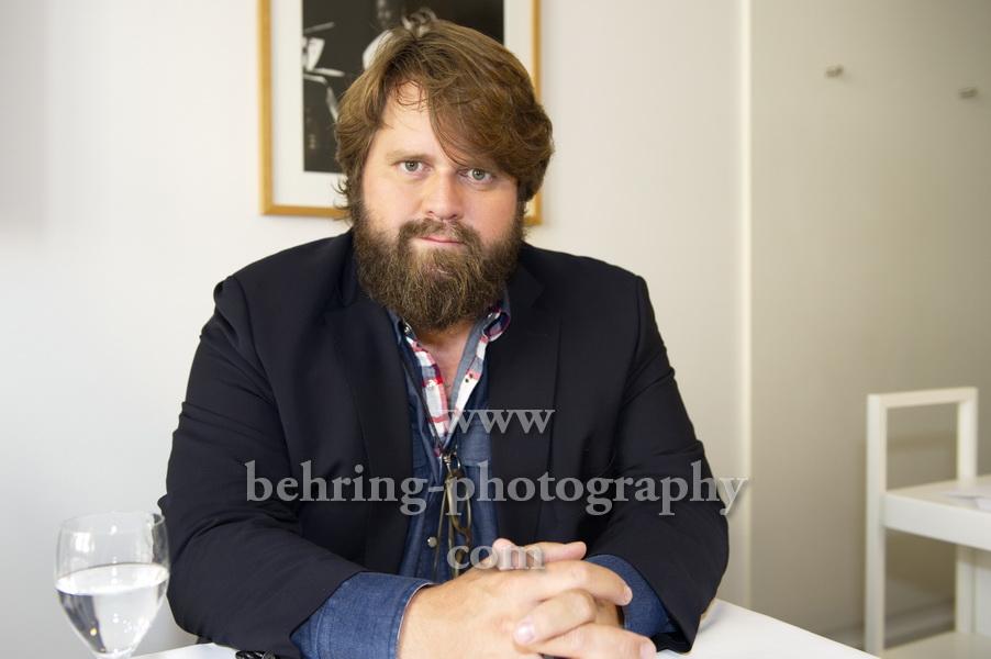 EIN FALL FüR ZWEI, Photocall und Interview mit antoine monot jr., Ellington Hotel, Berlin, 23.08.2018