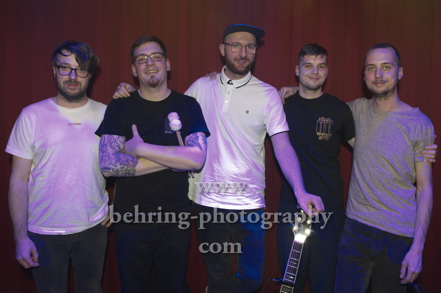 """NO KING NO CROWN"", Konzert, Privatclub, Berlin, 17.02.2019"