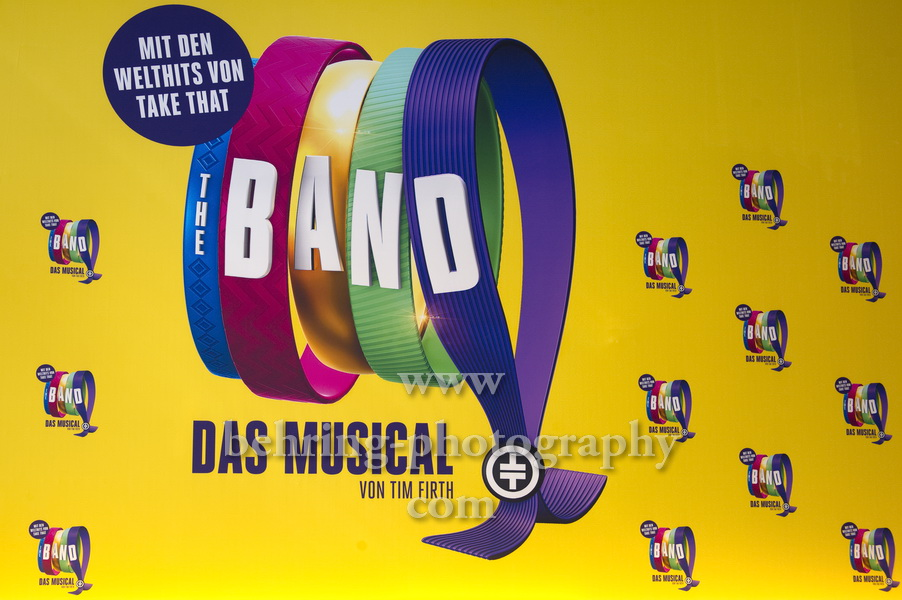 """THE BAND - Das Musical"", Photo Call, Theater des Westens, Berlin, 01.04.2019 - plakatmotiv"