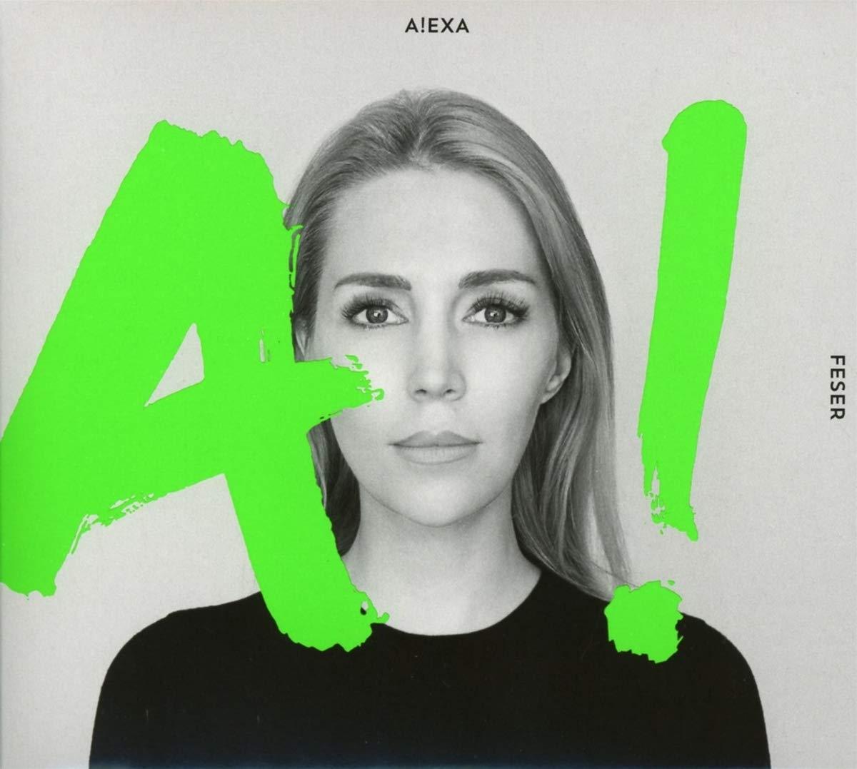 Alexa Feser - A!, Albumcover