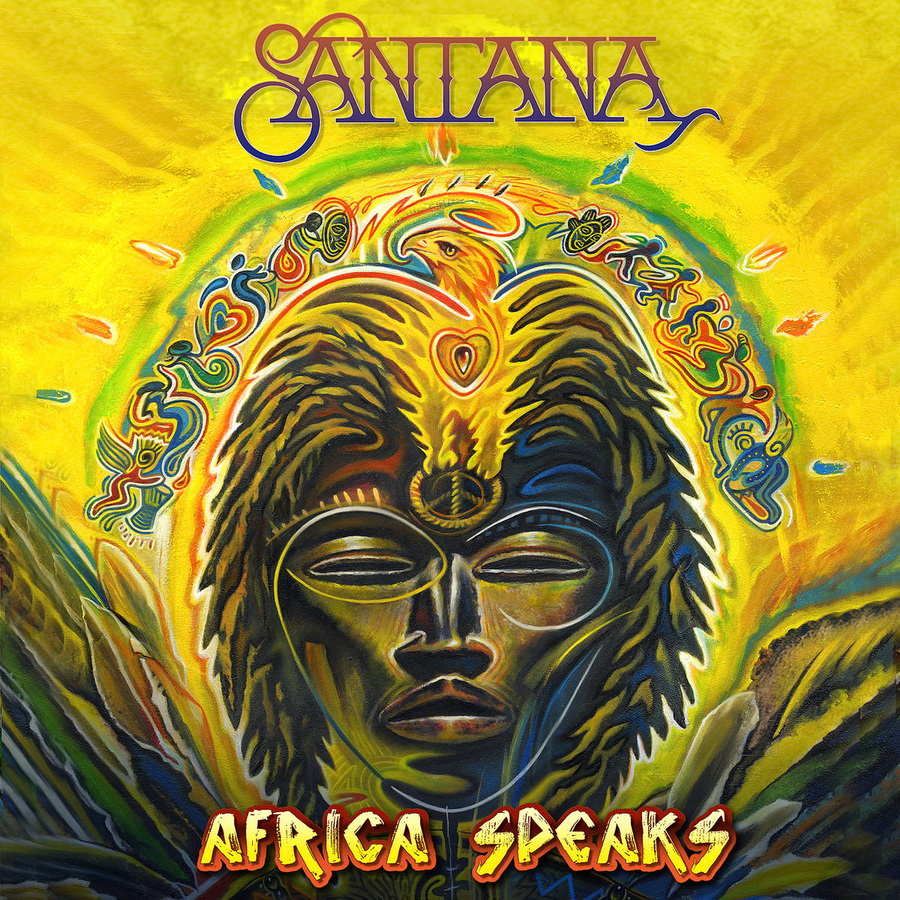 Santana - Africa Speaks, Album-Cover