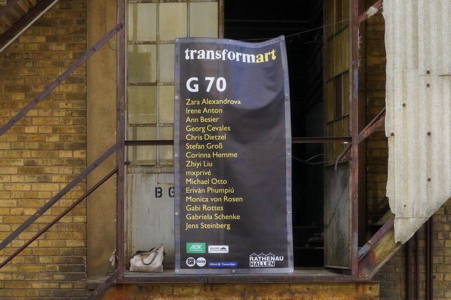 """Eingang G70, """"TRANSFORMART"""", Wilhelminenhofstrasse, Berlin, 12.-16.06.2019"""