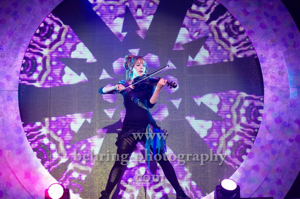 Lindsey Stirling, Konzert in der C-Halle, Berlin, 15.10.2014