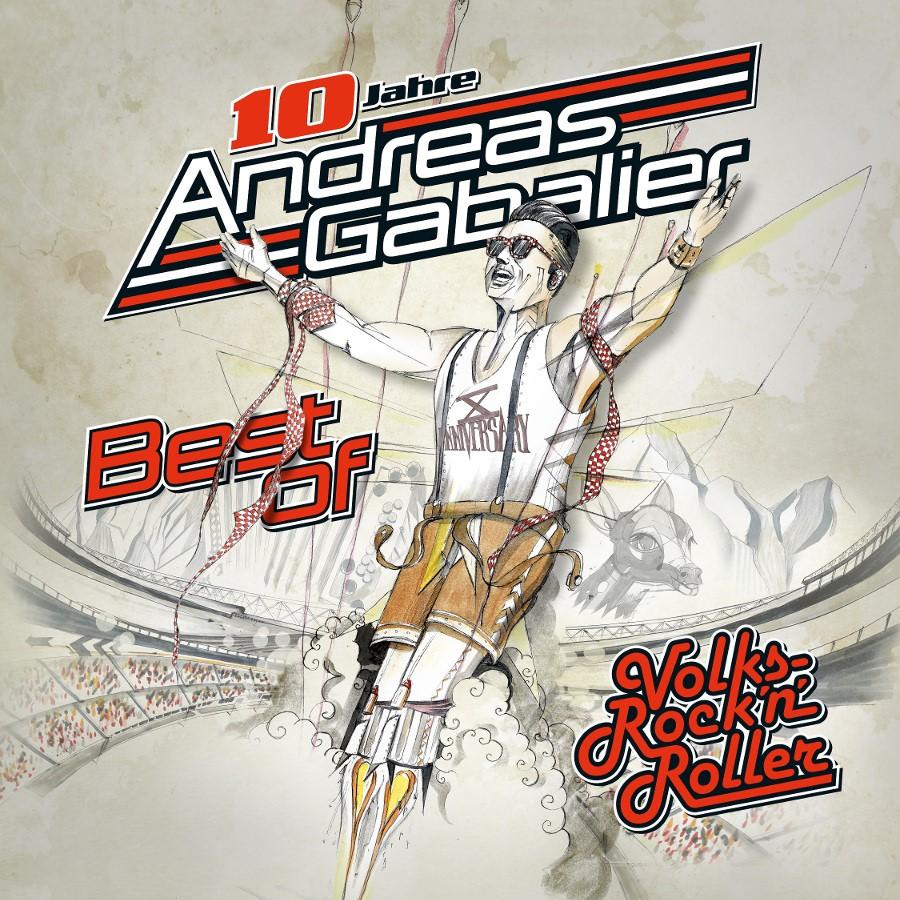Andreas Gabalier, Best_of_Album, cover