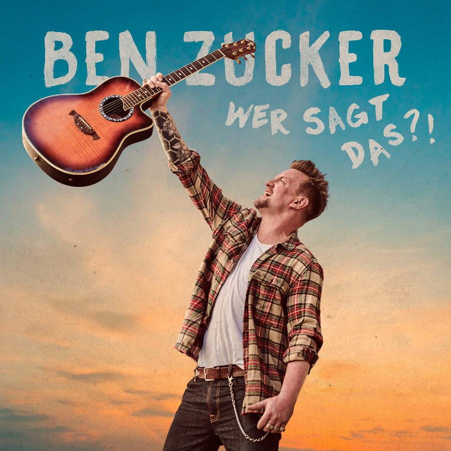 Ben Zucker, Wer sagt das, cover