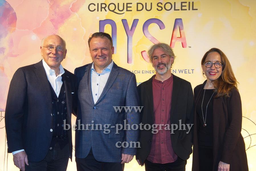 CIRQUE DU SOLEIL - NYSA, Pressekonferenz, Hotel de Rome, Berlin, 21.11.2019