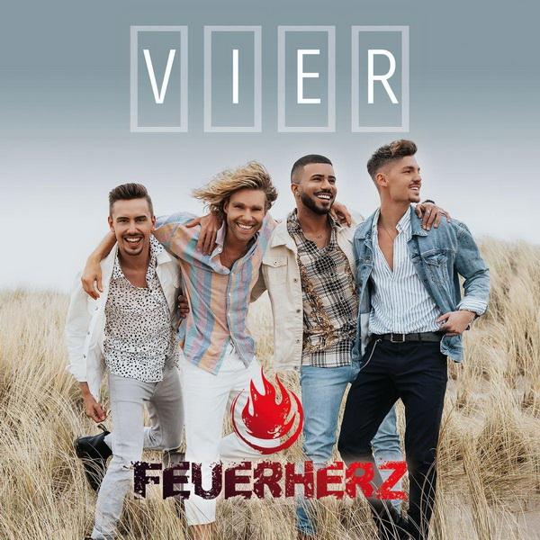 Feuerherz, Vier, Albumcover