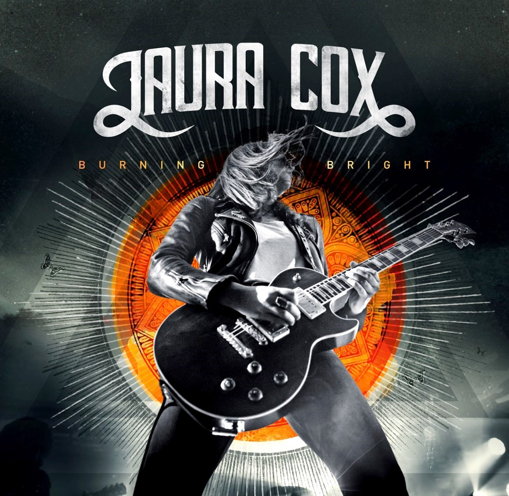 Laura Cox Burning Bright Album Cover
