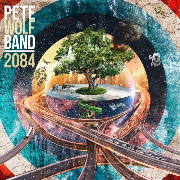 Pete Wolf Band, 2084-Cover