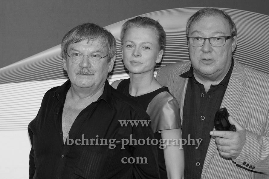 """""""40 Jahre Polizeiruf 110"""", Wolfgang Winkler, Isabell Gerschke, Jaecki Schwarz, Filmpremiere auf dem Roten Teppich. Preview in der Astor Film Lounge"""