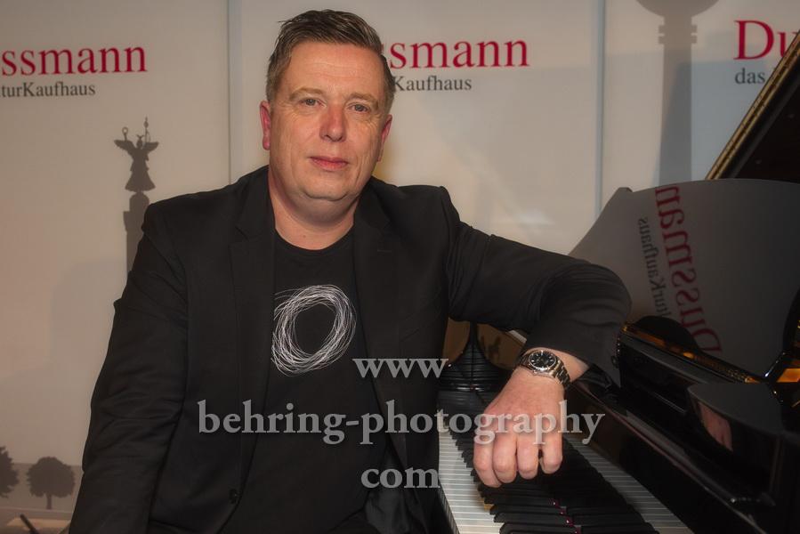 """Dirk MAASSEN (am 31.01.2020 erscheint sein Album """"Ocean""""), Photo Call, DUSSMANN, Berlin, 31.01.2020,"""