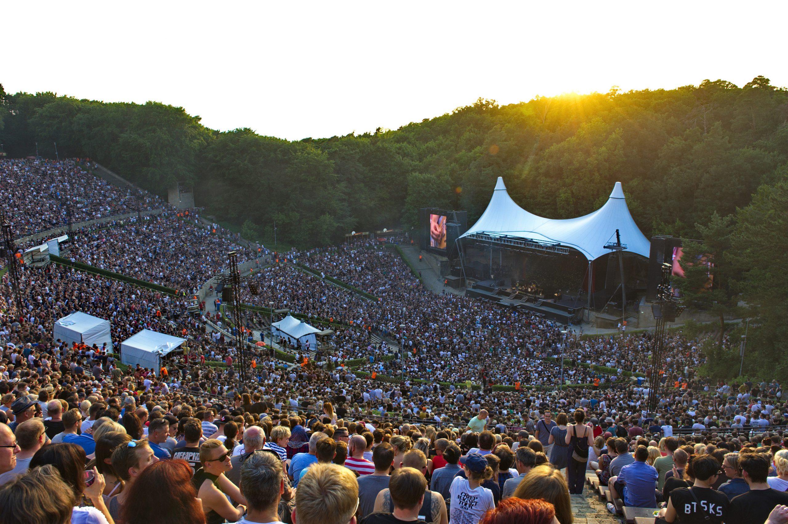 Waldbuehne, Berlin, 09.06.2018, Für viele die schönsten Konzertbühnen