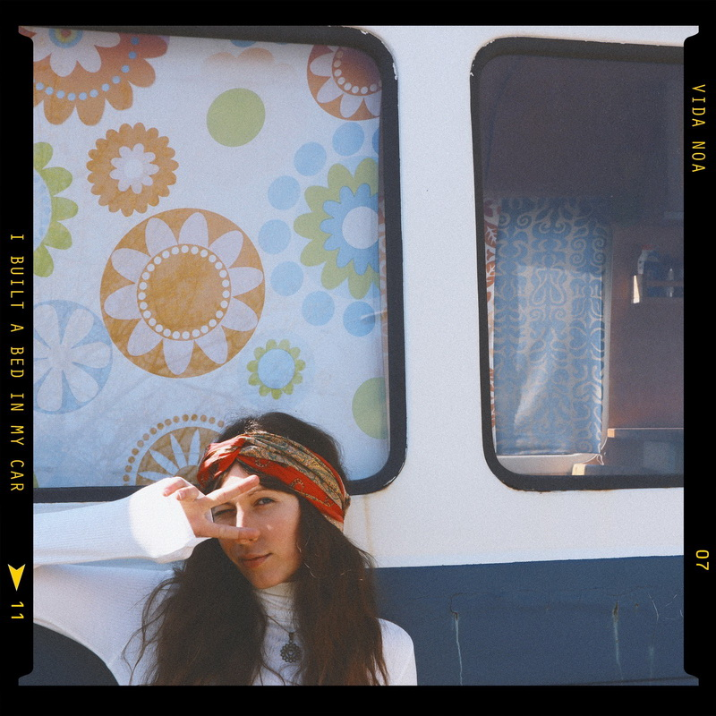 VIDANOA, i built a bed in my car, cover, neue musik aus österreich