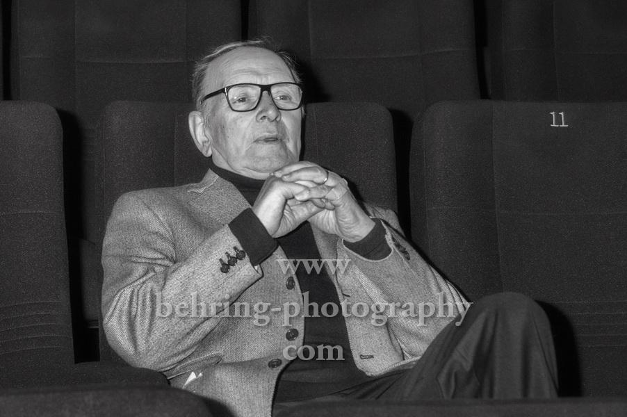 """""""Ennio MORRICONE im Alter von 91 Jahren gestorben"""", 10.11.1928 - 06.07.2020"""
