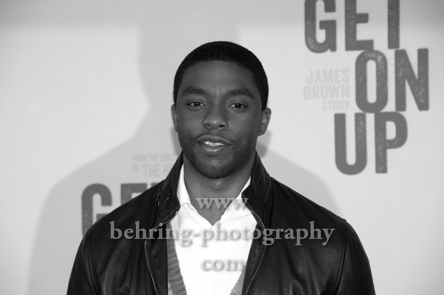 "Chadwick Boseman, ""GET ON UP"" (Kinostart: 09.10.2014), Photo Call am 17.09.2014 im Hotel RITZ CARLTON in Berlin, Germany,"