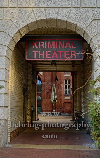 """""""Berliner Kriminal Theater, Geschlossene Gesellschaft"""", Berlin, 16.03.2020"""