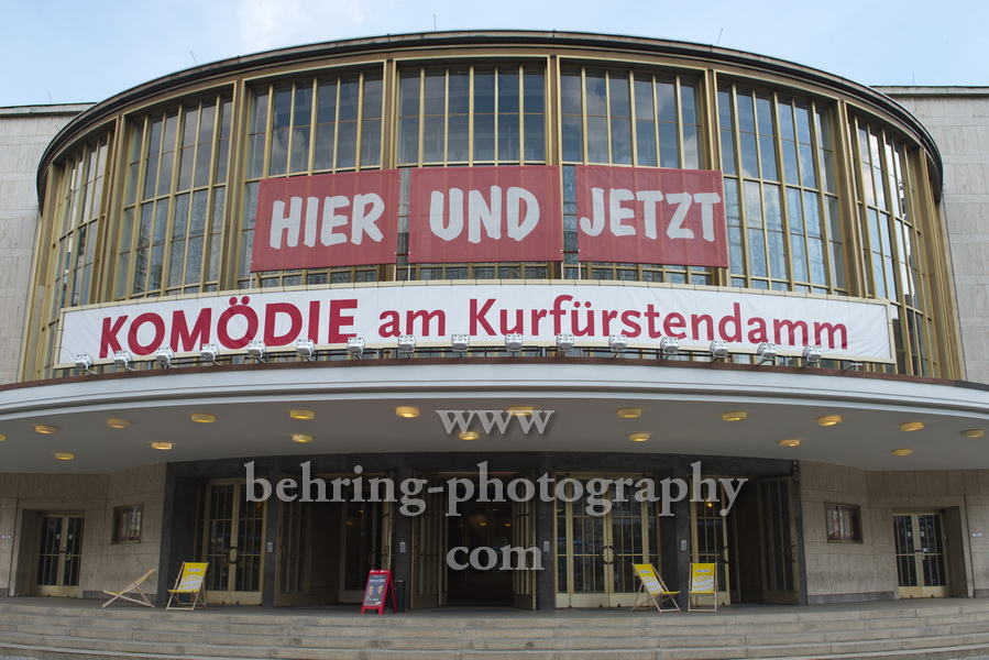 """Komoedie. Stadt. Strand"", Re-Start nach der Corona-Pause in der Komoedie am Kurfuerstendamm im Schiller Theater, Berlin, 09.08.2020"