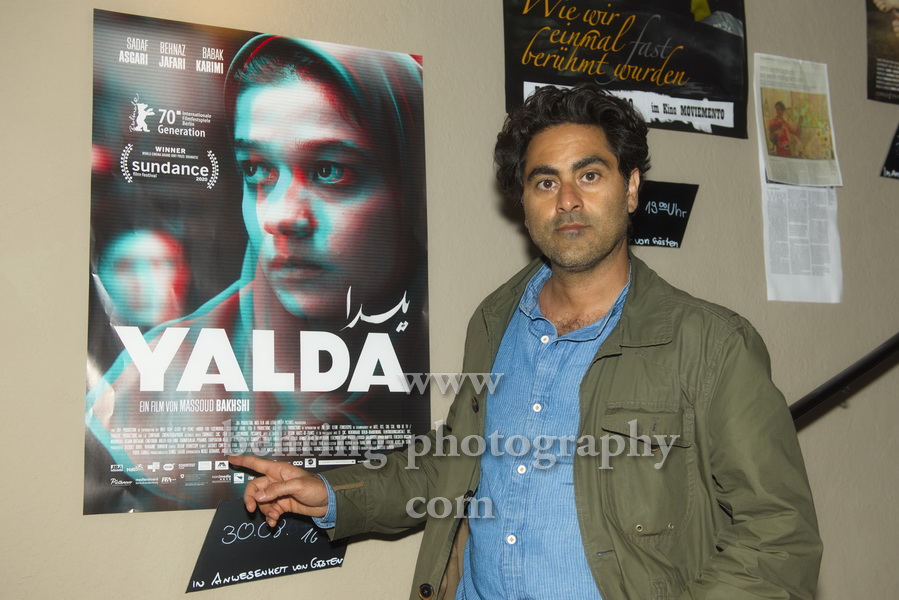"Regisseur Massoud Bakhshi, ""YALDA"" (Kinostart: 27.08.2020), Photo Call, Moviemento am Kottbusser Damm, Berlin, 30.08.2020,"