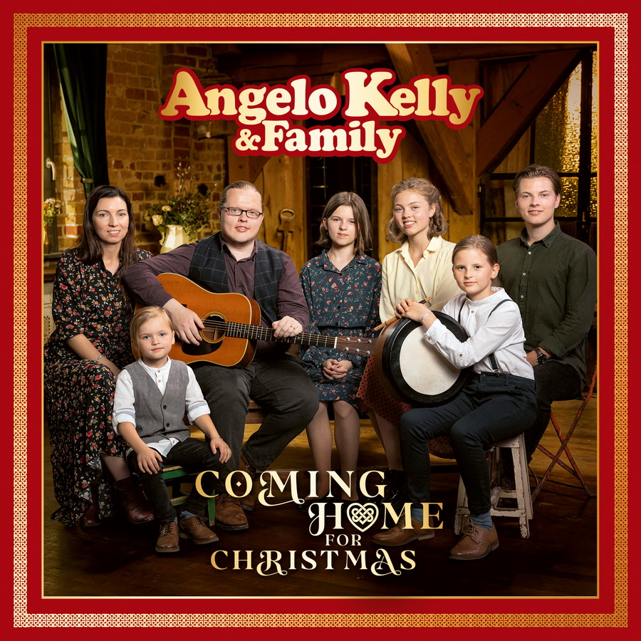 Angelo Kelly & Family, Coming-Home-For-Christmas, 2CD-Cover