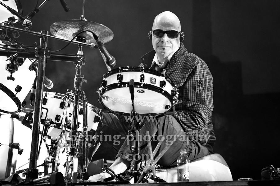 Prominente, die 2020 gestorben sind: Klaus Selmke (21.04.1950 - 22.05.2020), Schlagzeuger der Band CITY