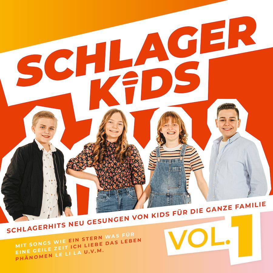 Schlagerkids, Album-Cover